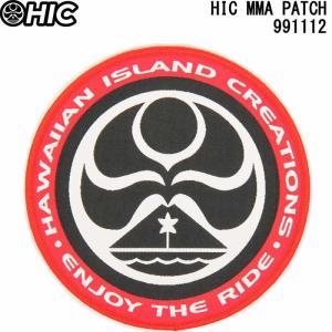 HIC エイチアイシー ワッペン HIC MMA PATCH RED HAWAIIAN ISLAND CREATIONS ENJOY THE RIDE|3love