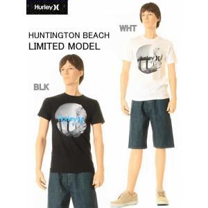 HURLEY HUNTINGTON BEACH KRUSH PIERHurley MEN'S HUNTINGTON BEACH T-SHIRT REGULAR FIT Tシャツ(2COLOR:ホワイト・ブラック)MTS0007020|3love