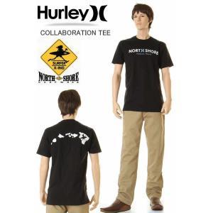 HURLEY & SURF N SEA TEE SHIRTS HAWAII ハーレー&サーフ アンド シー コラボ 限定 Tシャツ ハワイ ハレイワ サーフショップ老舗|3love