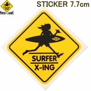 SURF N SEA 7.7cm STICKER HAWAII HALEIWA サーフ アンド シー 限定 ステッカー ハワイ ハレイワ サーフショップ老舗|3love