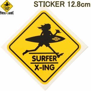 SURF N SEA 12.8cm STICKER HAWAII HALEIWA サーフ アンド シー 限定 ステッカー ハワイ ハレイワ サーフショップ老舗|3love