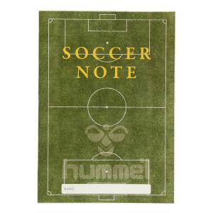 hummel ヒュンメル HFA9021 Soccer note サッカーノート ベーシック版 文房...