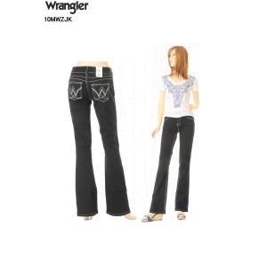 Wrangler JEANS LADY'S LOW-RISE ラングラージーンズ 10MWZJK ジャクソン ジーンズ ローライズ ブーツカット レディース ジーンズ パンツ|3love