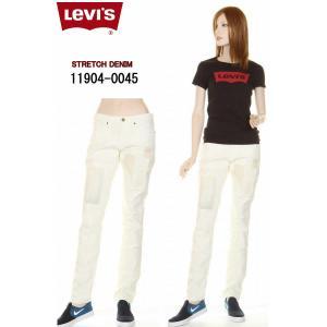 Levi's JEANS 11904-0045 IRREGULAR skinny 421 レディース ローライズ スリム フィット ストレッチ デニム|3love