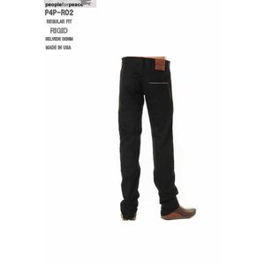 PEOPLE FOR PEACE XX JEANS MADE IN USALOT P4P-R02 001 BLACK RIGID (リジット)REGULAR STRAIGHT ピープル フォア ピース|3love