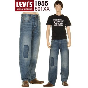 1966 501XX REPAIR SPECIAL LEVI'S VINTAGE CLOTHING 66501 JEANS リーバイス 501xx ジーンズ 赤耳デニム 66466-0014|3love