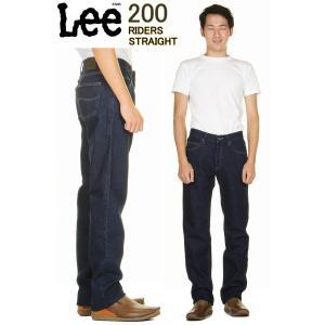 Lee 200 REGULAR STRAIGHTLOT.Lee 200-8989(PEPPER PREWASH・プレウォッシュ) オリジナルジップフライ Lee Riders リー ライダース ストレート 3love