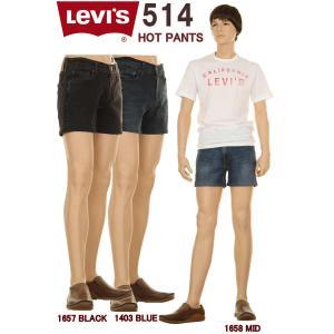 Levi's CUSTOM HOT PANTS 16882-0000 リーバイス デニム ホットパンツ カスタムモデル 522 ワンウォッシュ ハーフパンツ|3love