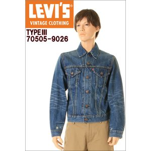 LEVIS VINTAGE CLOTHING 1967 70505-9026 リーバイス ヴィンテージクロージング TIPE MADE IN USA|3love