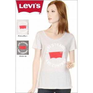 Levi's ladies T-SHIRTS 117500 LEVI STRAUSS AND COMPANY グラフィックロゴTシャツ リーバイスtシャツ|3love