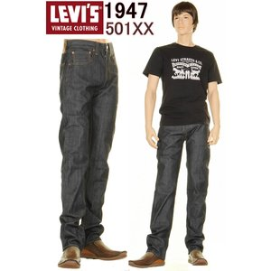 LEVI'S VINTAGE CLOTHING 1947年 501XX MADE IN USA リー...