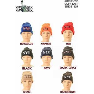 NEW YORK NEW YORK HAT&CAP COMPANY ニューヨーク ニューヨーク ハット&キャップ カンパニー NYCニットキャップ帽子 3love