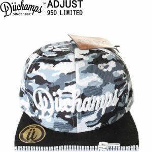 DUCHAMPS CAP BORU IN LOS ANGELES CAMO CITY CAP デュチャンプス キャップ スナップバックキャップ 刺繍|3love