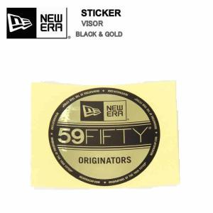 NEW ERA Die-cut Visor Sticker ニューエラ ダイカット バイザー ステッカー ブラック ホワイト 黒 白 ニュー エラステッカー