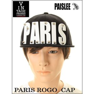 PAISLEE BRAND CAP USA VINTAGE FRAMES COMPANY USA PAISLEE BRAND PARIS FRANCE VINTAGE FRAMES ペイズリー キャップ SNAPBACK CAP|3love