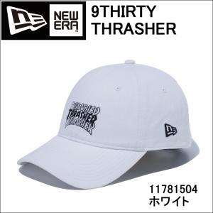 NEW ERA ニューエラ 11781504 9THIRTY THRASHER スラッシャー 3ロゴ ホワイト × ブラック ニューエラ|3love