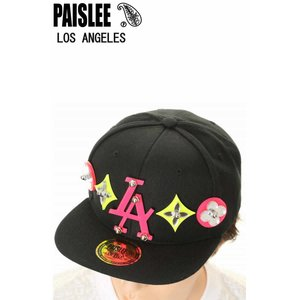 PAISLEE BRAND CAP USA VINTAGE FRAMES COMPANY USA PAISLEE BRAND RESORT LOS ANGELES VINTAGE FRAMES ペイズリー キャップ SNAPBACK CAP|3love