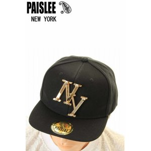 PAISLEE BRAND CAP USA VINTAGE FRAMES COMPANY USA PAISLEE BRAND NEW YORK GOLD VINTAGE FRAMES ペイズリー キャップ SNAPBACK CAP|3love