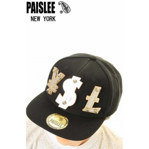 PAISLEE BRAND CAP USA VINTAGE FRAMES COMPANY USA PAISLEE BRAND YSL GOLD VINTAGE FRAMES ペイズリー キャップ SNAPBACK CAP|3love
