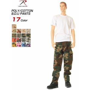 ROTHCO CARGO PANTS B.D.U USA ロスコ バトルドレス6ポケット ミリタリーカーゴパンツ アメリカ軍物ズボン新品 アウトドア|3love