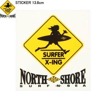SURF N SEA 13.8cm STICKER HAWAII HALEIWA サーフ アンド シー 限定 ステッカー ハワイ ハレイワ サーフショップ老舗|3love