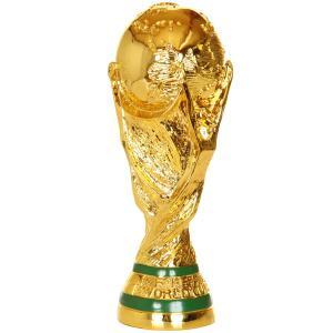 ワールドカップ サッカー トロフィー レプリカ モデル 36cm で、 みんなで、サムライブルーのユ...