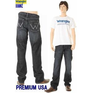 Wrangler 88MWZWN COW BOY CUT ラングラー88MWZ 新品 グリームインディゴデニムジーンズ ウエスタン カウボーイカット 3love