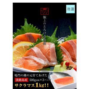 極上とろける食感!淡路島で育った【淡路島サクラマス/冷凍】1kg(500g前後×2)若男水産|3nen-torafugu