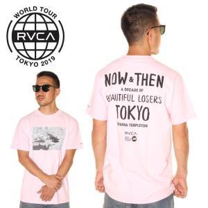 \年末感謝セール/ RVCA ルーカ Tシャツ メンズ DIENNA BL TOKYO 2019春夏