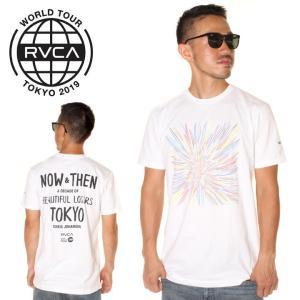 \年末感謝セール/ RVCA ルーカ Tシャツ メンズ JOHANSON BL TOKYO 2019...