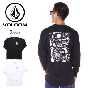 \年末感謝セール/ VOLCOM ボルコム Tシャツ ロンT メンズ MIKE GIANT L/S ...
