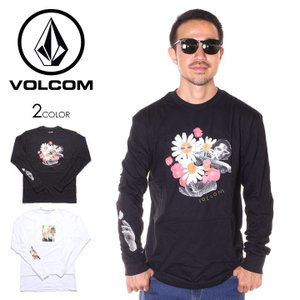 \年末感謝セール/ VOLCOM ボルコム Tシャツ ロンT メンズ POWER L/S TEE