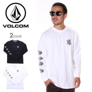 \年末感謝セール/ VOLCOM ボルコム Tシャツ ロンT メンズ PARTY BIRD L/S ...