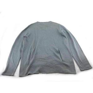 新品未使用展示品 PRADA プラダ 長袖 ニット トップス コットン グレー 表記 54 参考サイズ XXL アパレル メンズ ファッション【本物保証】|3rboutipue