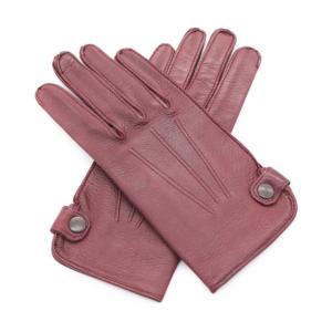 美品 HERMES エルメス  グローブ 手袋 レザー ボルドー 表記:7 アパレル 小物 レディース【本物保証】 3rboutipue