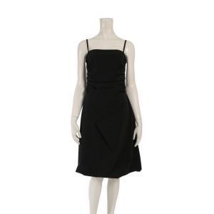 超美品 FOXEY NEW YORK フォクシーニューヨーク ドレス ワンピース 黒 メーカーサイズ40 参考サイズL【本物保証】 3rboutipue