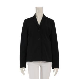 美品 PRADA プラダ ジャケット 黒 メーカーサイズ42 参考サイズM アパレル レディース【本物保証】|3rboutipue