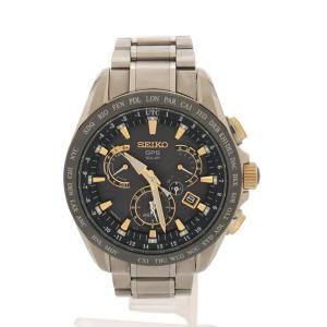 da1c0dfcfa 超美品 SEIKO セイコー ASTRON アストロン 電波ソーラー GPSウォッチ メンズ 腕時計 8X53-0AB0 ...