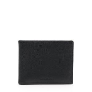 新品未使用展示品 BVLGARI ブルガリ クラシコ 札入れ 二つ折り財布 22309 レザー ブラック【本物保証】|3rboutipue
