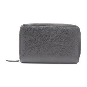 新品未使用展示品 GUCCI グッチ ラウンドファスナー財布 420113 レザー 黒 ブラック【本物保証】|3rboutipue