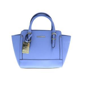 美品 Samantha Thavasa サマンサタバサ ハンドバッグ 2way ブルー系 PVC【本物保証】|3rboutipue