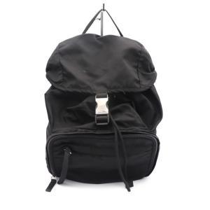 PRADA プラダ リュックサック バックパック V152 ナイロン ブラック【本物保証】|3rboutipue