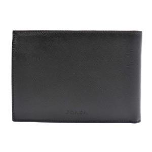新品未使用展示品 PRADA プラダ 二つ折り 財布 M2 サフィアーノ レザー ブラック レディース財布【本物保証】|3rboutipue