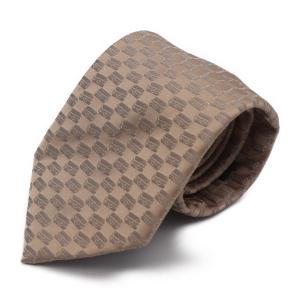 超美品 LOUIS VUITTON ルイヴィトン ネクタイ シルク ベージュ ファッション 小物 【本物保証】|3rboutipue