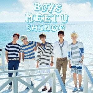 Boys Meet U (先着特典スクラッチシート付)(初回生産トレカ封入)(通常盤)(CD+DVD) [CD] SHINee