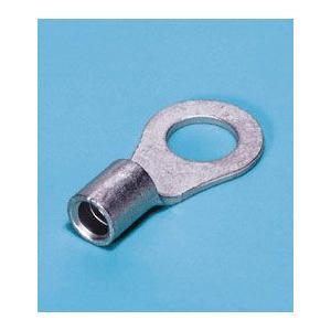 日本圧着端子(日圧JST) 1.25-M4x50 内径4.3mm外形6.6mm/端子内径1.7mm外形3.4mm(50個セット)|3top