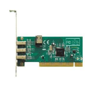 玄人志向 1394T-LPPCI TI社製 TSB43AB23搭載 IEEE1394 6pinx4(外部:3、内部:1) インターフェースボード|3top