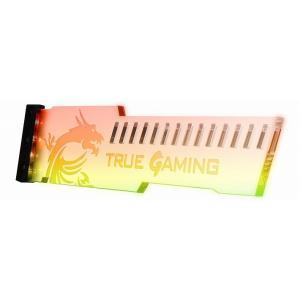 MSI ATLAS Mystic ARGB v2.0 カラフルなアドレサブルRGB LEDを搭載 マザーボードの負荷を軽減するグラフィックボードガイド(XX1617)【少量在庫有り!】|3top