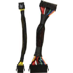 玄人志向 [ATX-EXT] EPS12V/ATX 24pin対応電源のための延長ケーブル(19.5cm)|3top