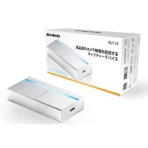 アバーメディア BU110 UVCキャプチャーデバイス (DV456) Androidデバイスでライブ配信が行えるビデオカメラ・一眼レフカメラ向けの小型キャプチャーデバイス|3top